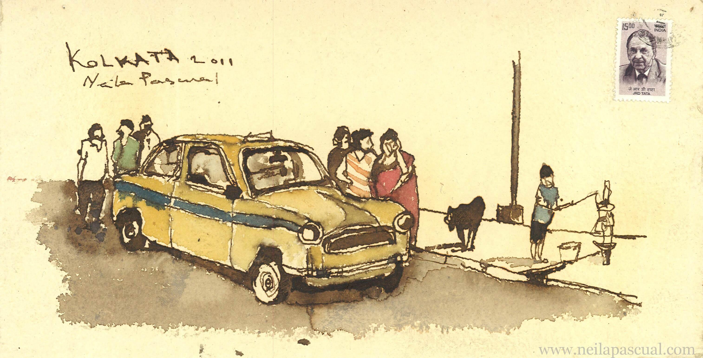 Taxi Calcuta