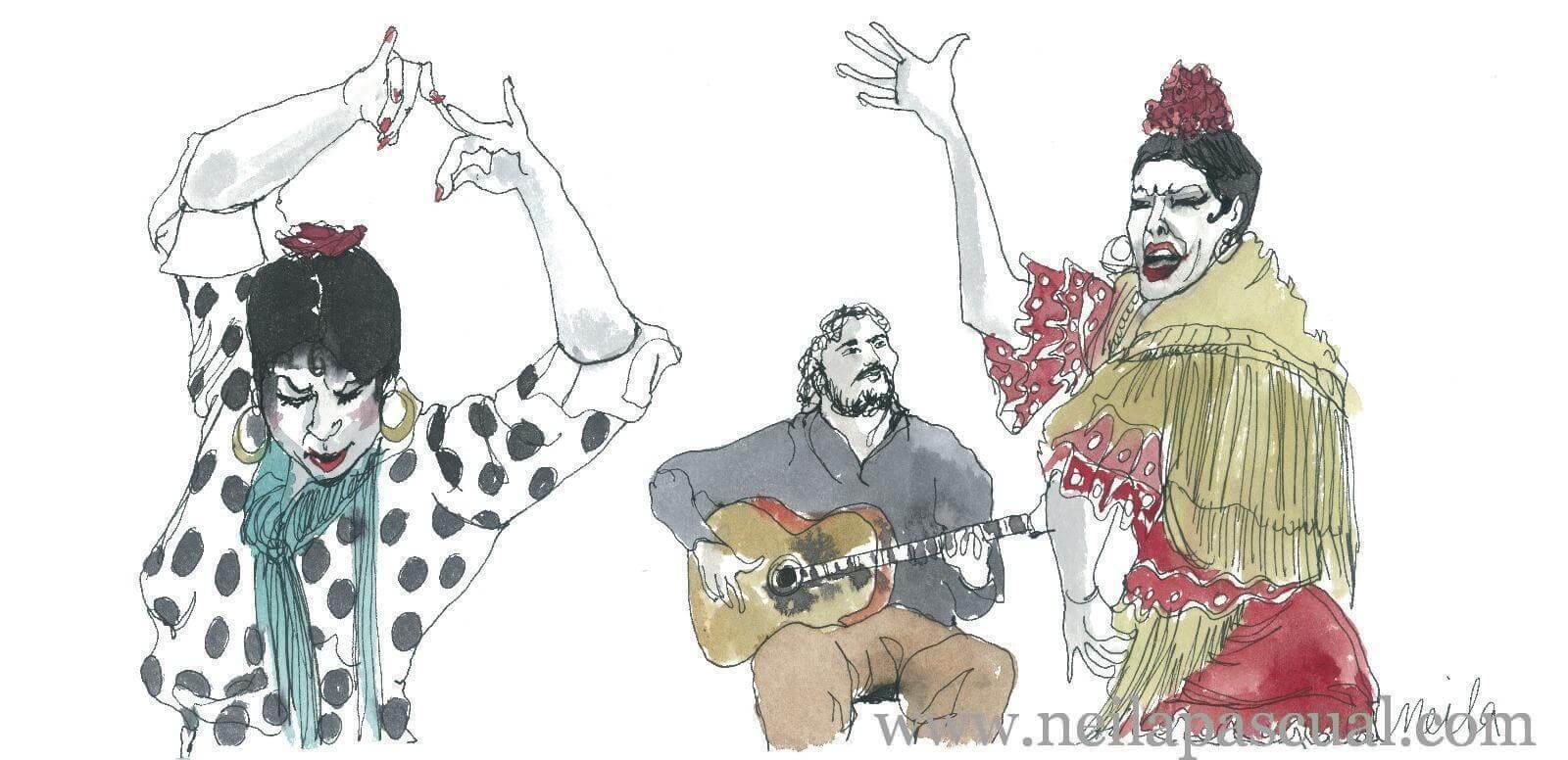 Guitarra y baile