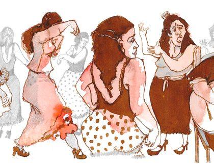 Flamenco Sepia